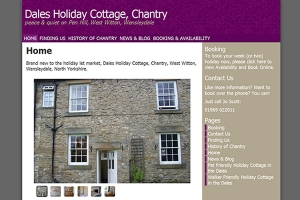 Dales Holiday Cottage, Chantry – Built in the Silicon Dales