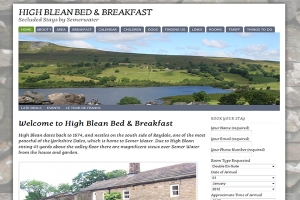 HighBlean.co.uk – Wensleydale / Raydaleside Bed & Breakfast by Semerwater