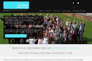 Livius Weddings – Yorkshire Wedding Venue @ Ripon Racecourse