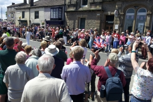 Olympic Torch Relay Came to Leyburn – 20th June 2012