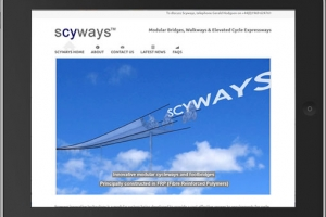 Scyways – Raised Cycleways & Modular Bridges