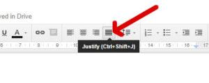 google-drive-docs-justify