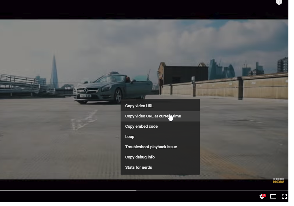 How to link to a specific time in a YouTube video - Silicon