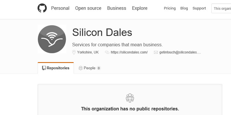 Silicon Dales on GitHub featured image