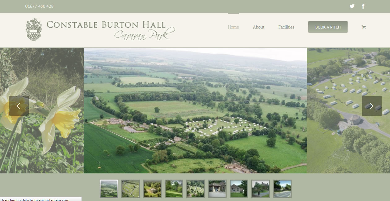 Relaunch: Constable Burton Hall Caravan Park featured image