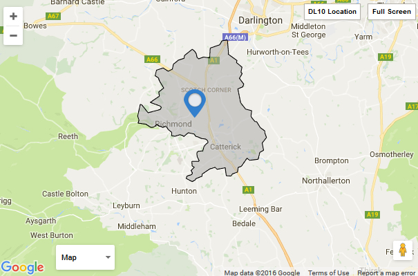 UK Locations: DL10 Postcode Area featured image