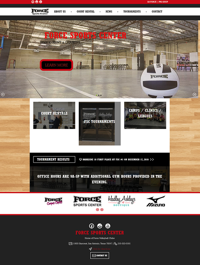 Case Study: Google Calendar Plugin for WooCommerce Bookings for Force Sport Center, Texas featured image
