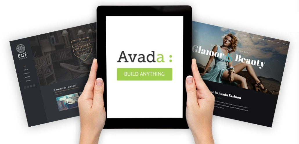 Example of Avada classic