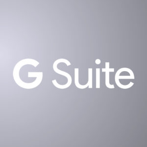 G Suite header slide
