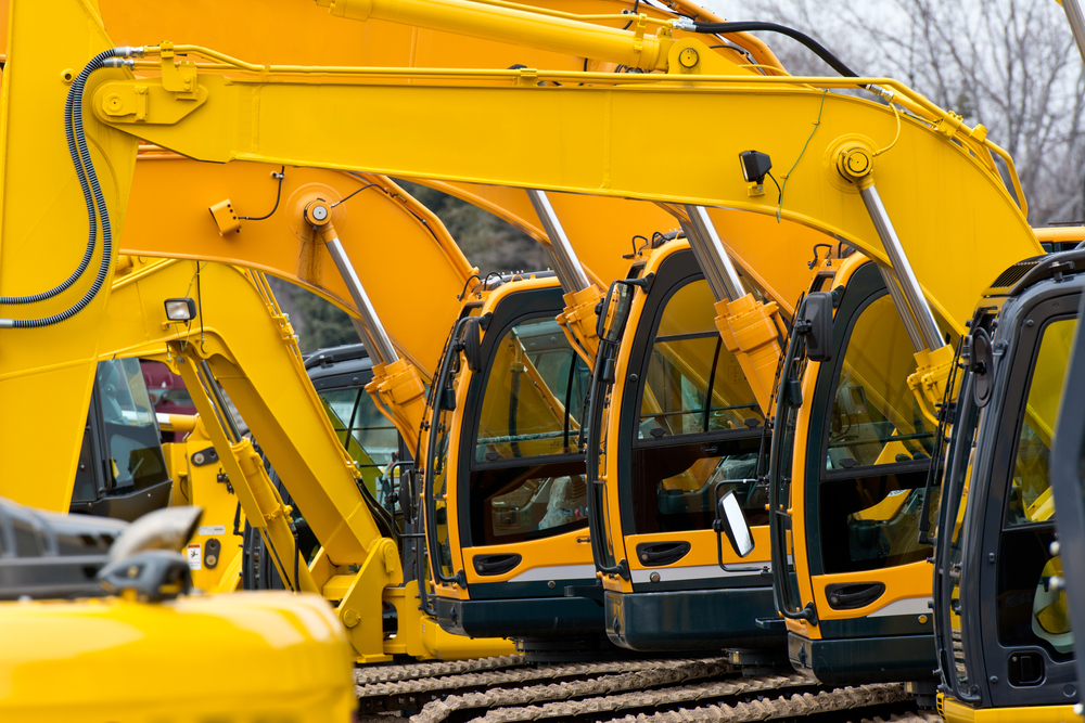 Multiple excavator cabs