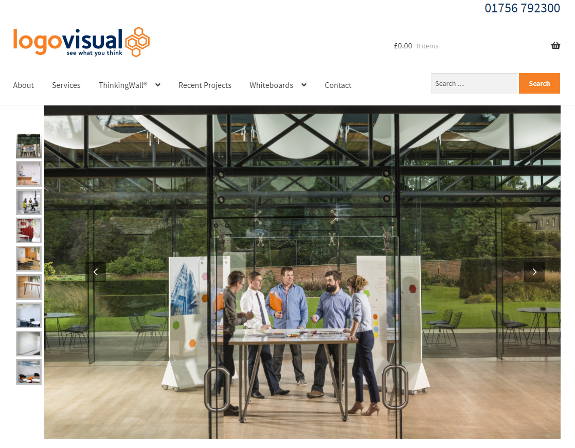 New LogoVisual eCommerce website