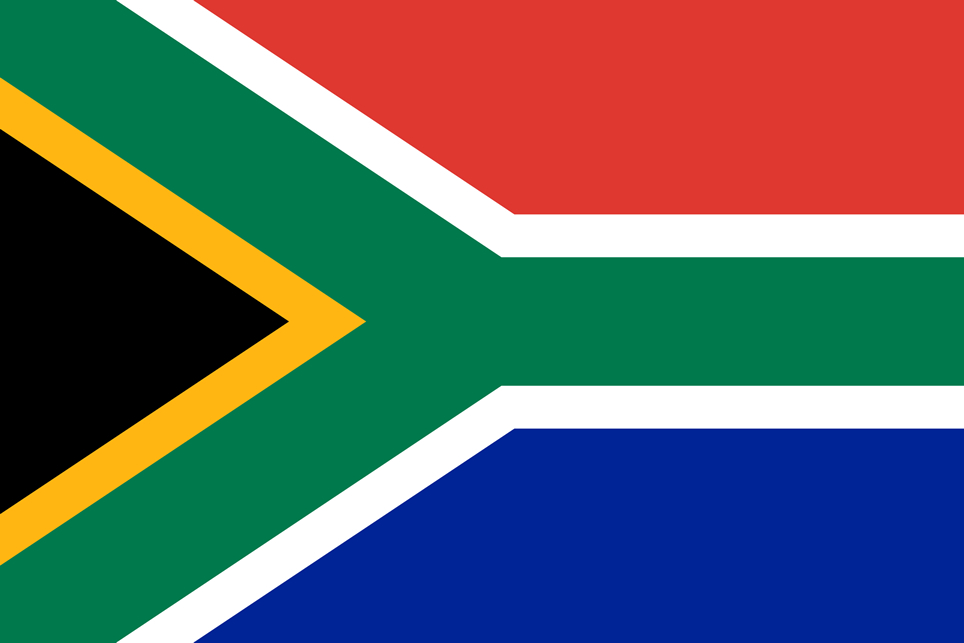 South Africa flag