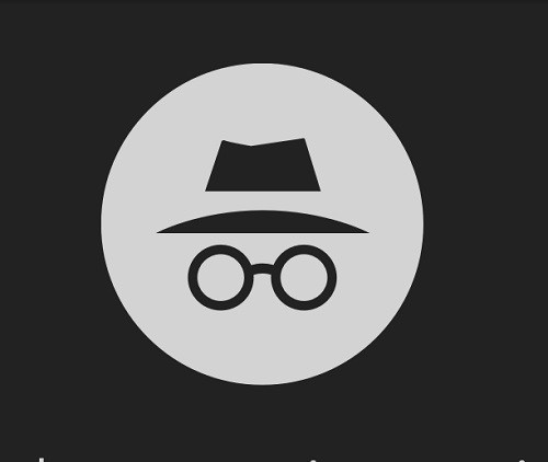 The incognito symbol from Chrome