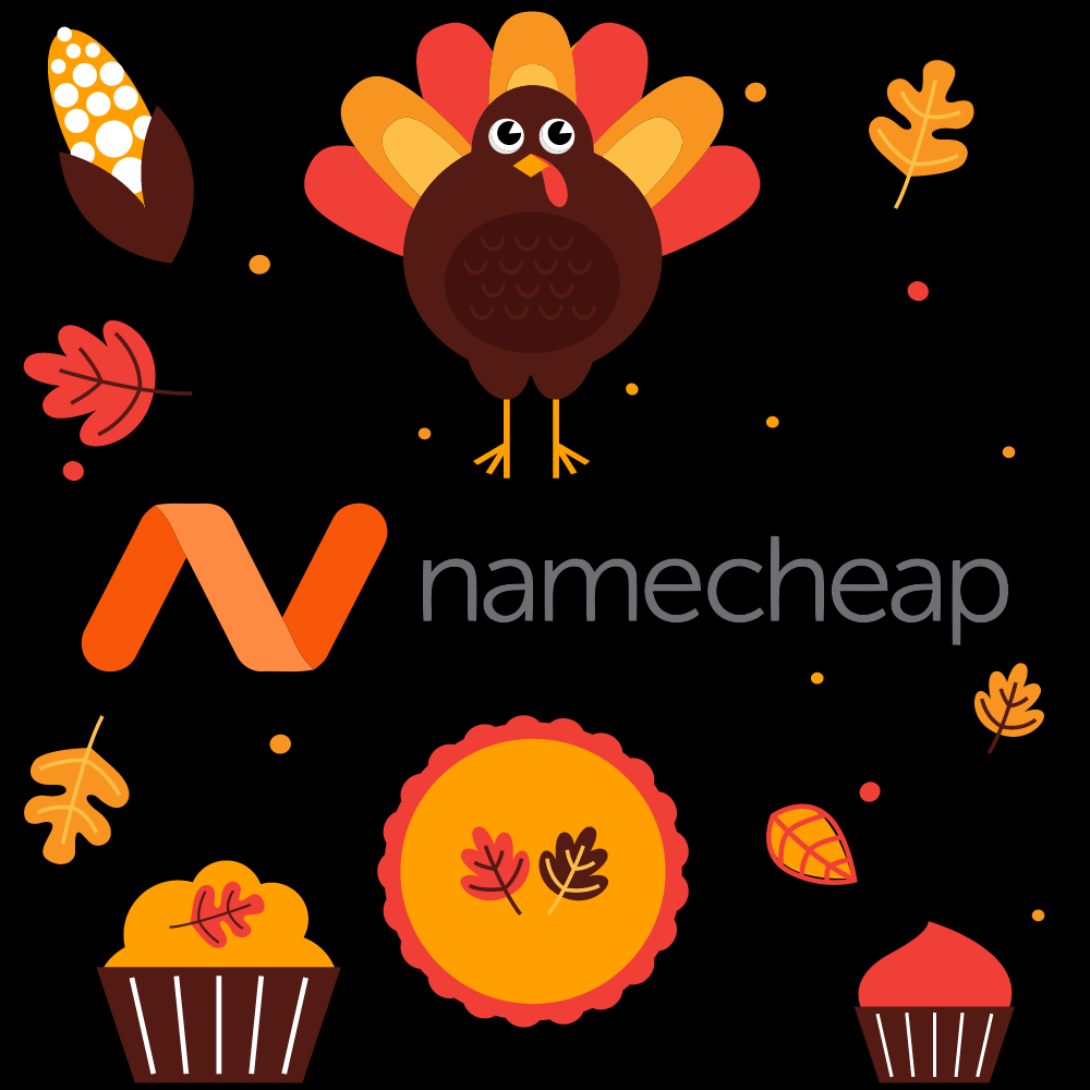 Namecheap on Thanksgiving