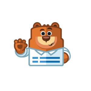 WPForms teddy bear logo