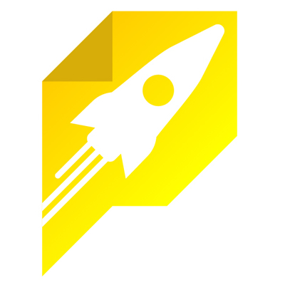 Page Optimizer Pro logo -yellow rocket