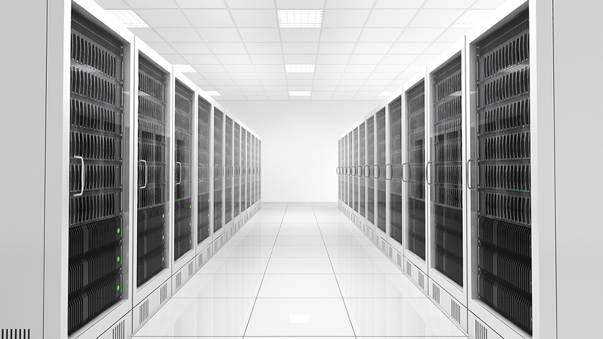 Double white datacentre