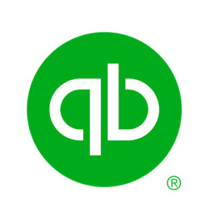 Quickbooks logo against white square
