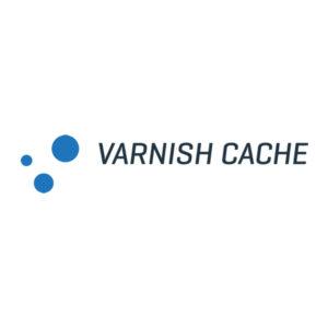 Varnish cache logo square white