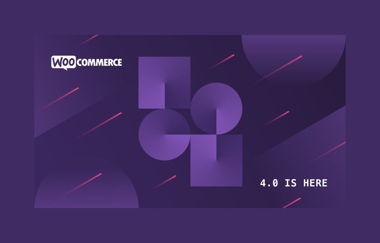 WooCommerce 4.0 update banner
