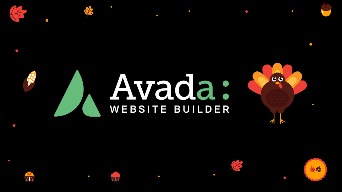 avada website-builder-thanksgiving