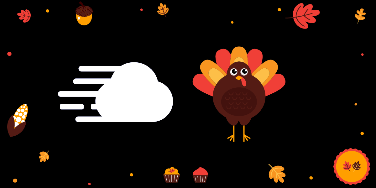 Cloudways and Thanksgiving Turkey