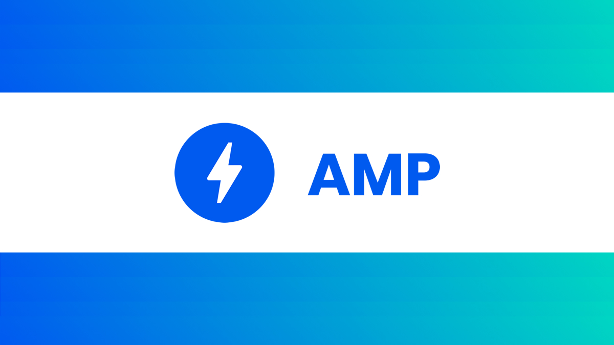 AMP Banner turquoise