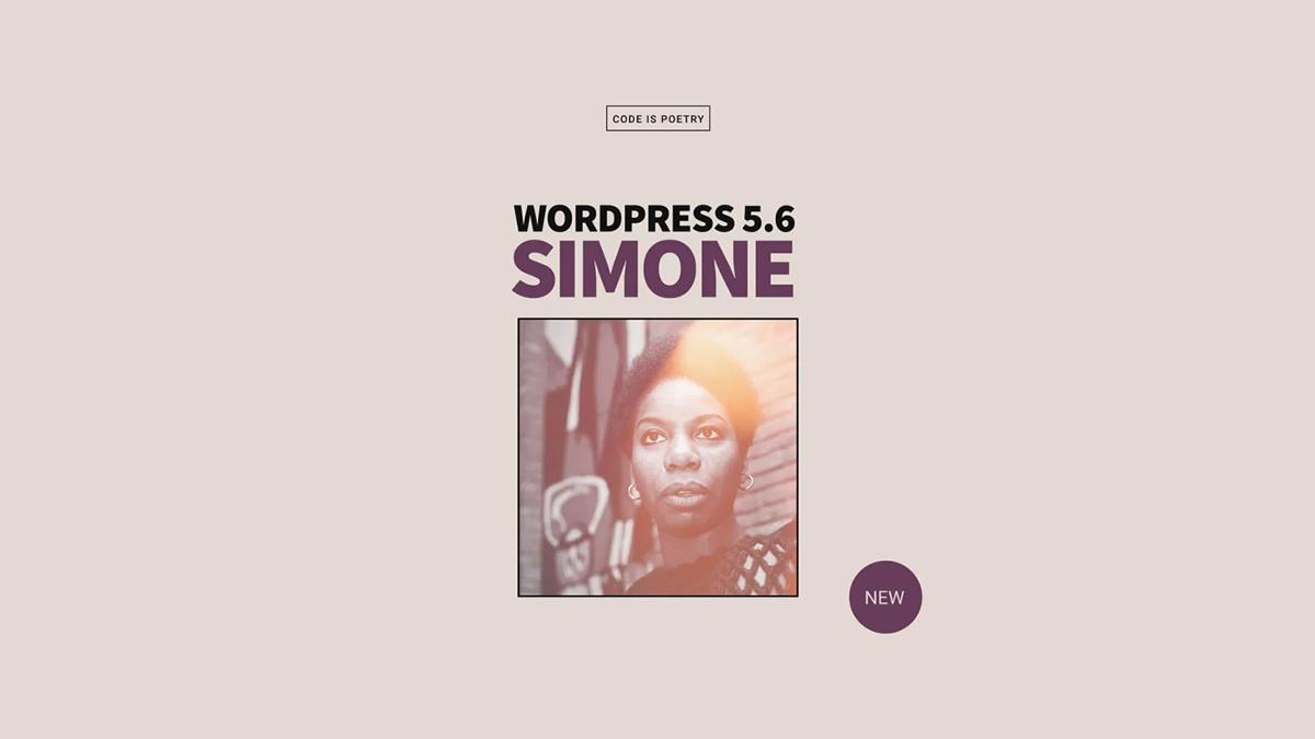 WordPress 5.6 Simone release