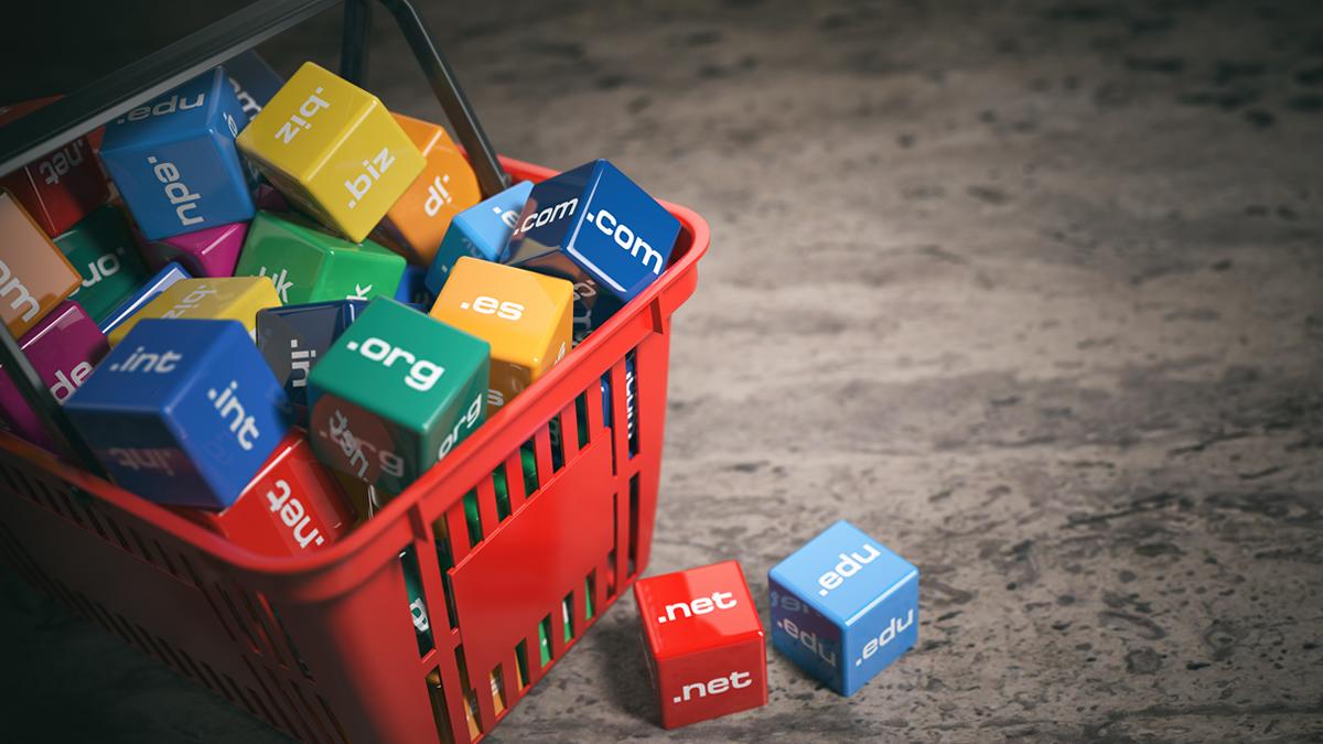 Basket of domain blocks